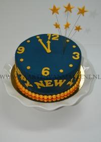 Nieuwjaars taart
