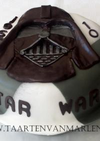 Dart Vader taart