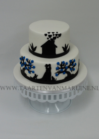 Schaduw taart