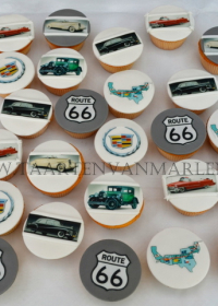 Route 66 cupcakes