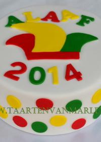 Carnaval taart