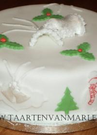 Kersttaart