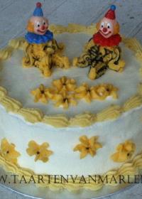 clown taart