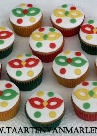 Carnaval cupcakes