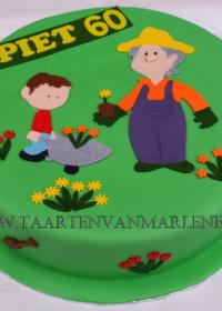 tuinieren taart