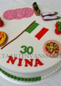 Italy taart