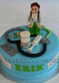 geslaagd voor doctor taart