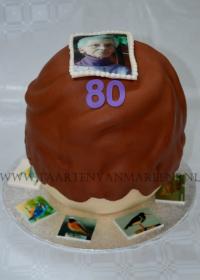 Bossche bol taart