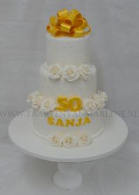 Verjaardag taart 50 jaar