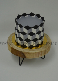 Escher illusie taart