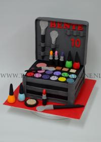 beautycase taart