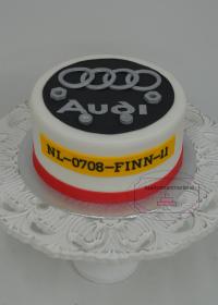 Audi taart