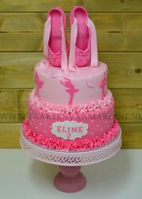 balletschoenen taart