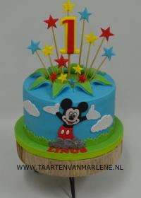 eerste verjaardag met mickey mouse