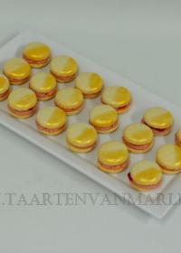 Macarons met gouddust
