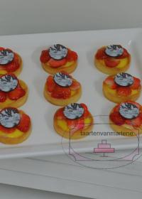 Tartelettes met aardbei