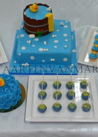 uitgebreide Sweet table