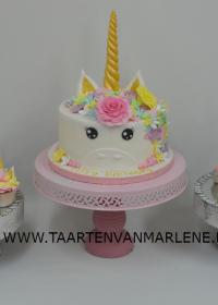 Eenhoorn met cupcakes en cakepops